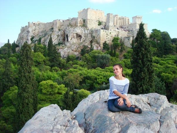 Александра Самсонова, студентка, Киев - Афины, оформление документов на высшее образование в Греции.