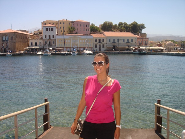 Илина Анна, Москва - Ираклеон/ Крит, оформление документов в государственные ВУЗы Греции 2012/13.